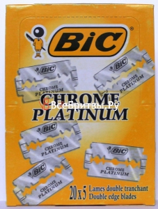 Bic Лезвия Bic Chrome Platinum в блоках 20х5 шт