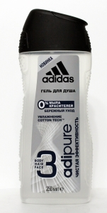 Adidas Action-3 Adipure гель для душа