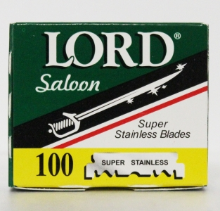 Lord лезвия Lord L.100 GB Saloon Super Stainless (половинчатые) 100 шт